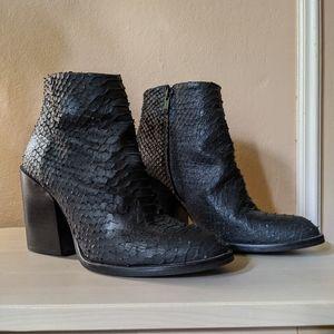 Black Zara Ankle Boot